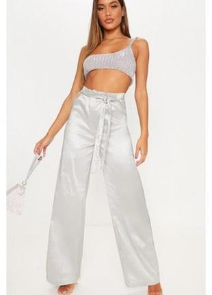 Ликвидация товара 🔥     серебристые брюки