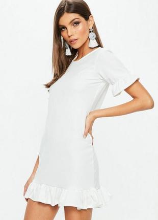 👑♥️final sale 2019 ♥️👑  платье с оборками и короткими рукавами