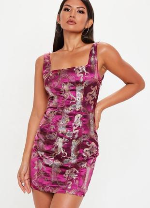 Ликвидация товара 🔥  платье из жакарда в китайском стиле