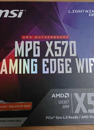 Материнська плата MSI MPG X570 Gaming Edge Wi-Fi