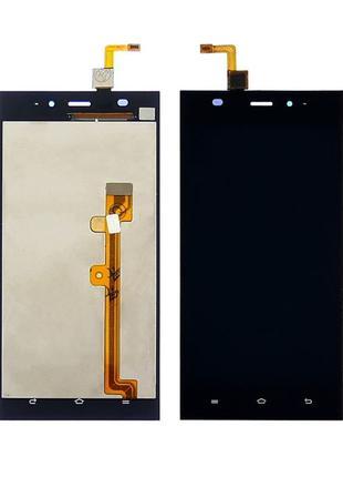 Дисплей Xiaomi Mi3 с сенсором черный