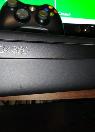 Xbox 360 Slim LT 3.0+Kinekt+руль Xbox
