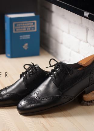Броги Ted Baker, Индия 41 мужские туфли дерби кожаные