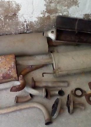 ремонт глушителей каменское