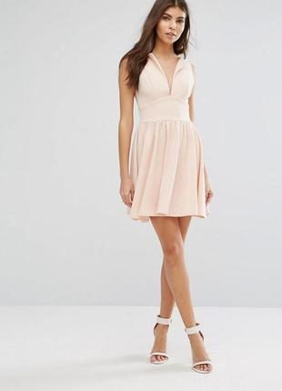👑♥️final sale 2019 ♥️👑   пышное платье свырезом без рукавов