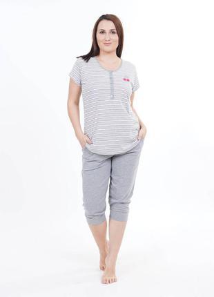 Женская одежда для дома и сна, женский комплект домашней одежд...
