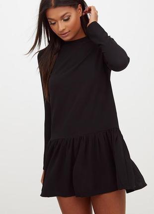 Ликвидация товара 🔥    шифоновое платье с оборкой