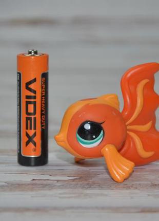 Пет шоп pet shop игрушки зоомагазин littlest pet shop lps рыбка