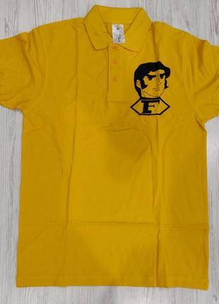 Ликвидация товара 🔥  яркая  унисекс  футболка роло с принтом