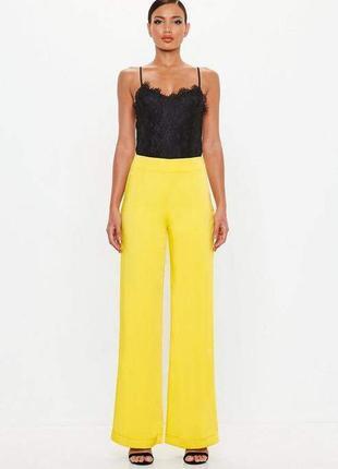 Ликвидация товара 🔥   брюки палаццо знаменитого бренда желто с...