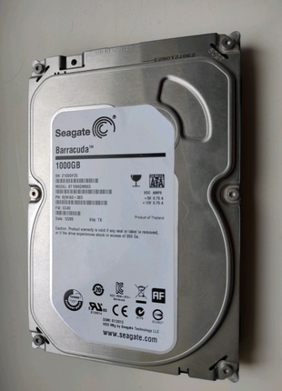 "Жесткий диск HDD 3.5"" Seagate Barracuda 1 TB"