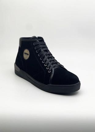 Замшевые ботинки Davis