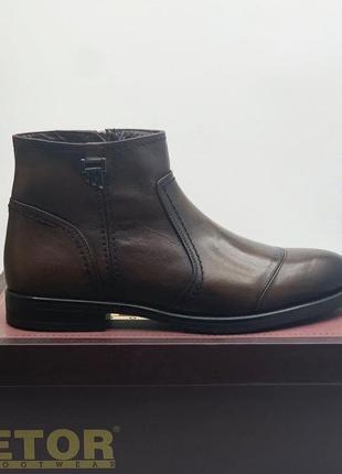 Зимние классические ботинки etor
