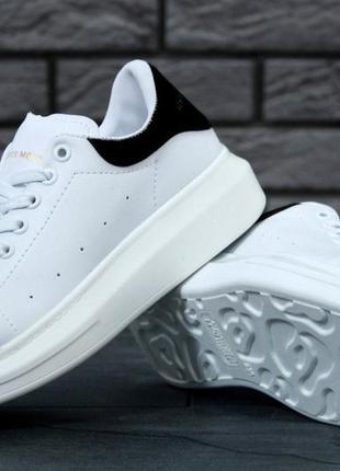 Шикарные кроссовки унисекс alexander mcqueen oversized sneakers