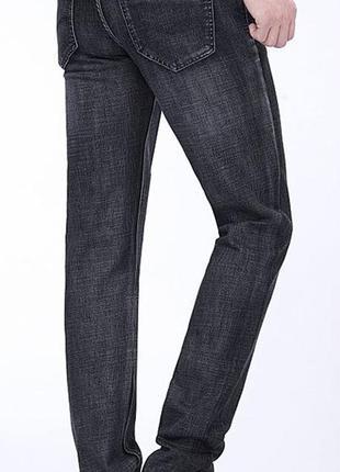 Утепленные мужские джинсы на флисе ARMANI JEANS  31-40 размеры