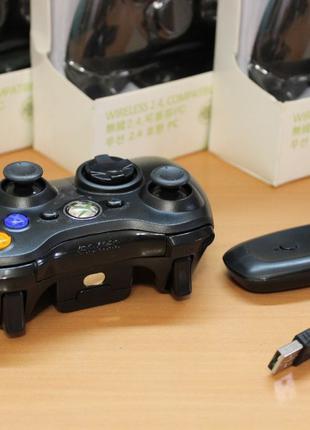 Xbox 360, ПК Windows, Sony PS3 беспроводной джойстик с ресивером