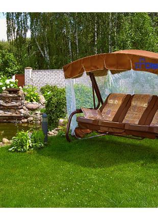 Качель садовая Ольса (Olsa) Палермо-премиум с591