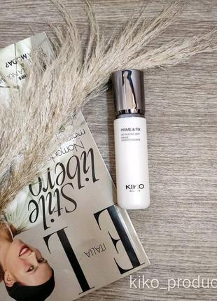 Спрей для обличчя KIKO Prime & Fix Refreshing Mist