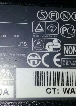 Сетевой адаптер  для ноутбука HP , Series PPP09H .18,5V 3,5A