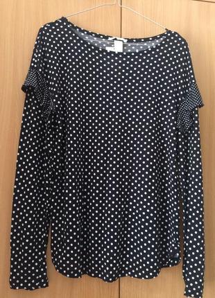 Кофточка в горошок  блузка