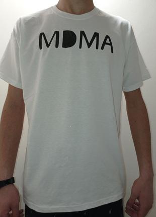 Футболка ручной работы MDMA от бренда Б-2-16