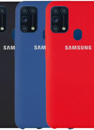 Чехол Silicone Cover (AAA) для Samsung Galaxy M31