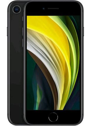 APPLE iPhone SE (2 покоління) 64GB Black  (REFURBISHED) ORIGINAL!