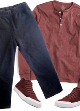 Теплые спортивные штаны с начесом на 4-5 лет