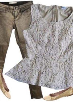 Блуза кружево гипюр размер 40-44