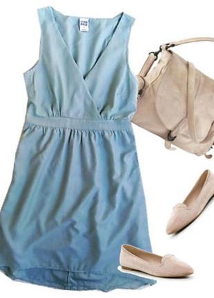 Легкое платье размер 44-46