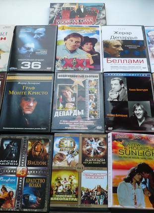 DVD Жерар Депардье - фильмы -  dvd