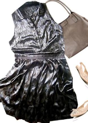 Стрейчевое платье размер 44-46