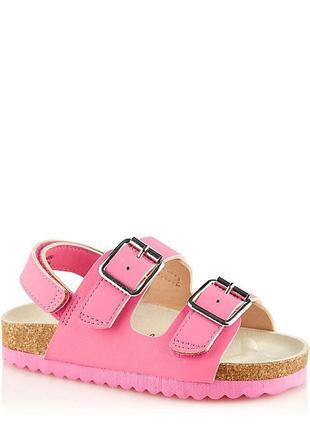Розовые босоножки george оригинал, новые сандали джордж