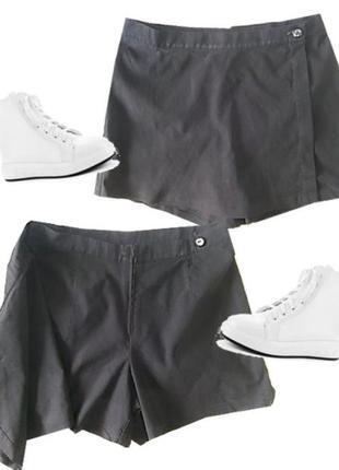 Стрейчевые юбка шорты размер 40-44