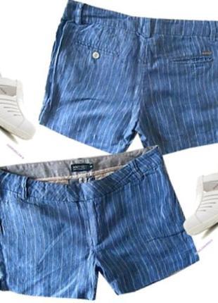 Шорты лен размер 40-44  бренд amy gee