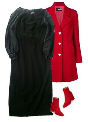 Длинное платье костюмная ткань размер 44-46