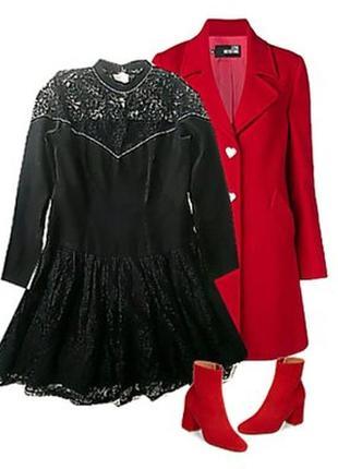 Легкое платье с гипюром размер 44-46