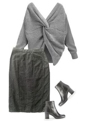 Теплая нарядная юбка размер 40-44