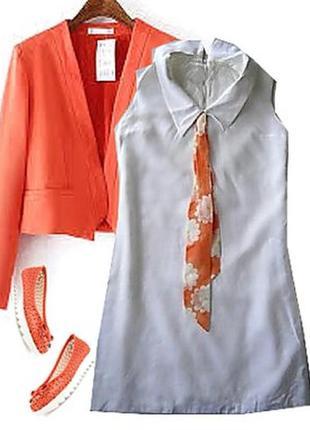 Платье с галстуком размер 40-44