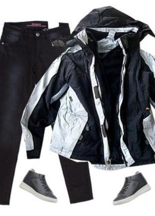 Куртка ветровка с отстегивающейся подстежкой размер 48-50