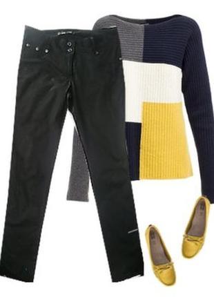 Стрейчевые брюки пошив джинсов размер 46-48