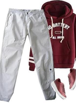 Катоновые брюки карго размер 44-46