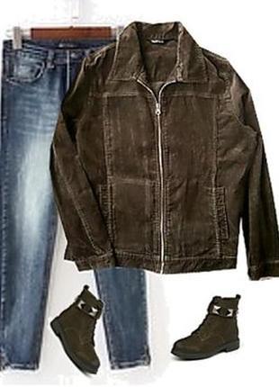 Вельветовый пиджак размер 48-50