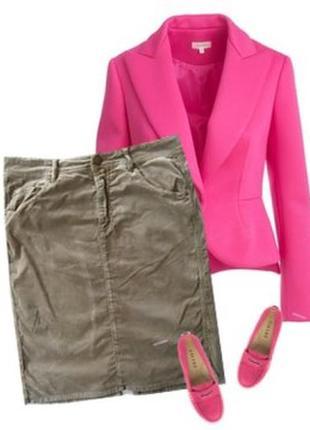 Стрейчевая бархатная юбка размер  48-50