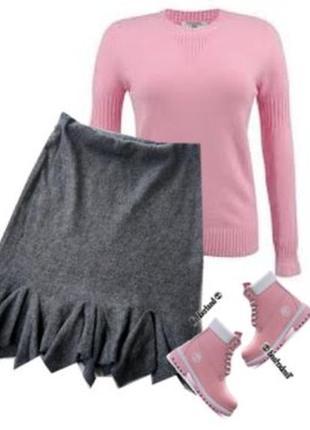 Теплая юбка 40%шерсть размер 40-44