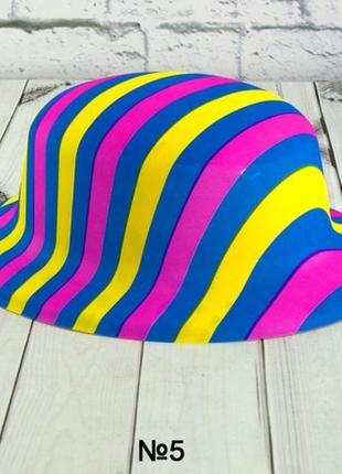 Шляпа маскарадная детская набор 6 штук