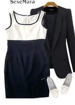 Платье классическое костюмная ткань размер  44-46