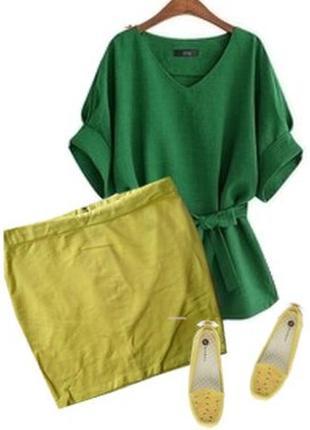 Яркая юбка размер 46-48