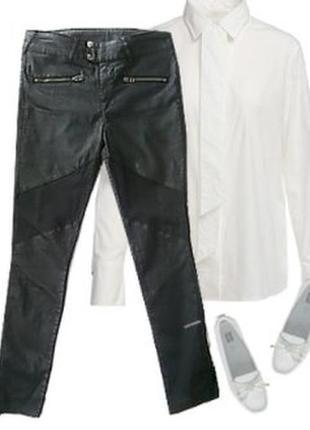Легкие брюки с напылением размер 46-48