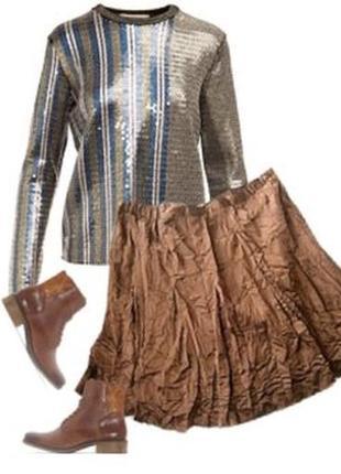 Нарядная юбка большой размер 54-56
